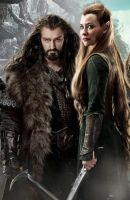 thorin x tauriel 4 by Bleach-Fairy