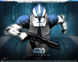Star Wars Desktop by mcdave