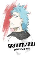 Grimmjow Jeagerjaques by kyuuketsukigirl-15
