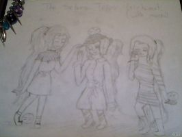 The Selves Trios Girls Out! by PrincessofKH