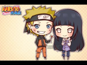 [ COMMISSION ] NaruHina by ningyohime07