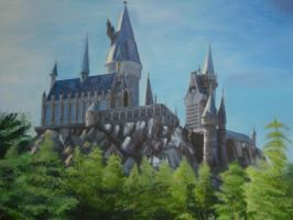 Hogwarts School of Witchcraft and Wizardry by Cordelia-Lien