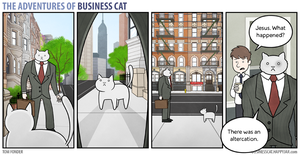 The Adventures of Business Cat - Territory by tomfonder