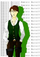 Colored. Dominic Harrell. by tinta-estudio