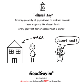 Stealing property of goyims by GoodGoyim-com