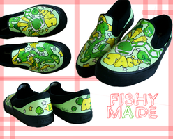 Jackee Custom Shoes by AquaticFishy