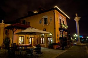 Epcot Italy at Night 2 by AreteStock