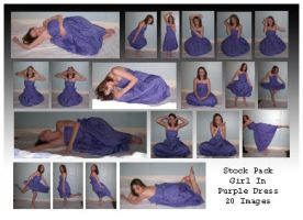 Stock Pack - Girl In Purple Ds by Gracies-Stock