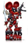 DEADMOUSE = Deadpool + Mickey by jamietyndall