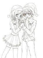 Winter Couple by chibigirl21