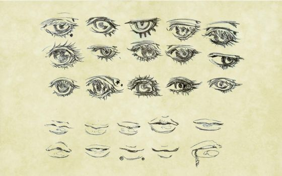 ++Reference: Eyes and Lips++ by Mi-yue