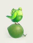 DTA: tiny little limes by cloud-the-art-zombie