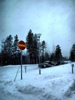 No entry (to school) by FinJambo