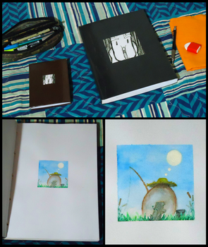 Sketchbooks by ORO8ORO