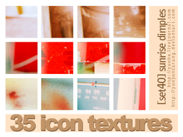 35 icon textures - sunrise by yunyunsarang