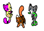 |-Adoptables Batch One-| by Split-Realyti-Adopts