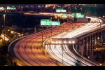 S Shaped light trails by johnchan
