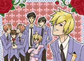 Ouran High School Host Club by strunza