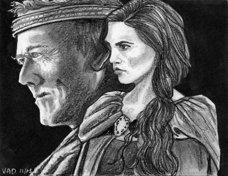 Uther and Morgana by vandonovan