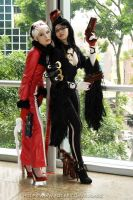 STGCC - Bayonetta and Jeanne by Tiburonsama