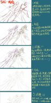 drawing tutorial in chinese by Fivian