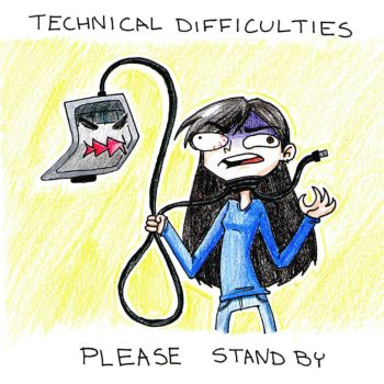 Technical difficulties by Solariad