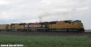 UP 4464 BCOL 4616 UP 2163 leads MASIH 01 Isaac by EternalFlame1891