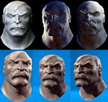 Conquest - Rough Zbrush Sculpt by The-3DArtist