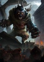 Werewolf Rage by Coffeeater