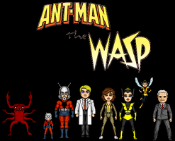 Ant-Man and Wasp (Origin) by CaptainDutch