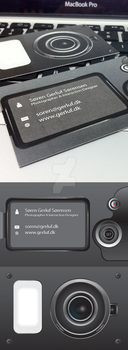 Photographer businesscard by usk