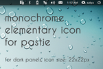 Pastie elementary Panel Icon by satya164