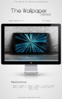 The Wallpaper Series - Spiral Gradient TV by SynPredator