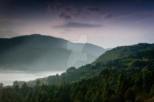 Lake Ashi by JonathanDudley