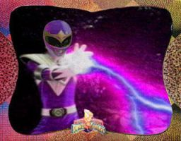Purple Power Ranger by Hraygurl