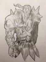 Orc Warrior by Arddy24
