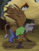 Gryphon TF/TG art trade 4/5 by tf-sential