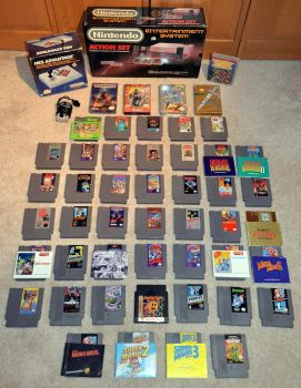 Collecting it Old School - NES Edition by Phil-R
