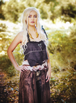 Khaleesi of the Great Grass Sea by StarbitCosplay