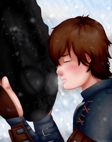 Hiccup and Toothless by niktropolis
