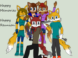 .:Request:. The Prower Family Photo by Frozenvolf
