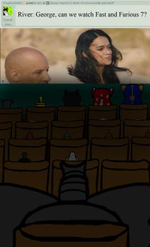 George: Watch Fast and Furious 7 by askhuqstuff