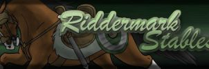 Banner for Riddermark Stables by Ebonycloud-Graphics