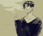 levi by CarrotCakeBandit