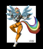 Tracer Dash by Vladiverse