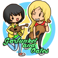 Garfunkel and Oates by LadySelph