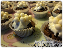 cupcakes - choco snowballs'6 by angelicetherreality
