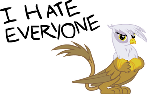 Gilda hates everyone by somekindahatebreeder