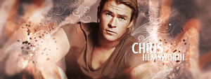 Chris Hemsworth by UltimatePassion