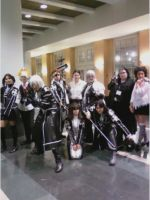 D Gray Man Group by caged-birds